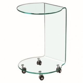 Azurro Glass Lamp Table