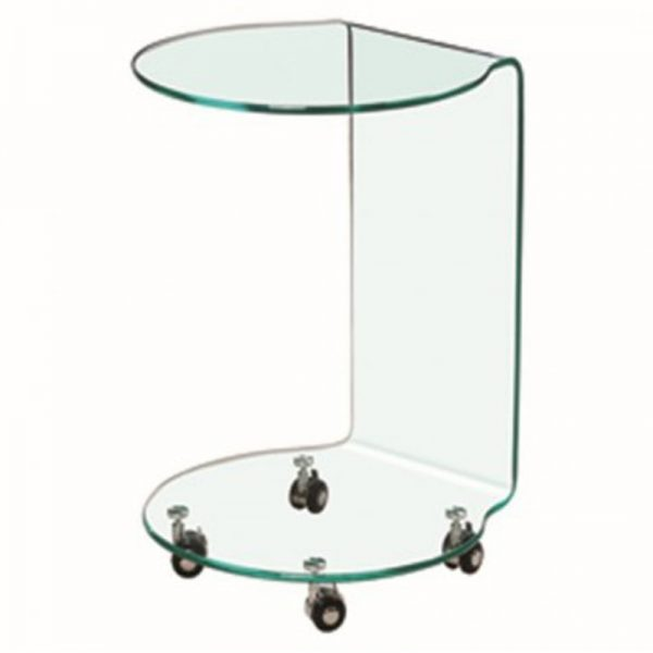 azurro glass lamp table, home store living