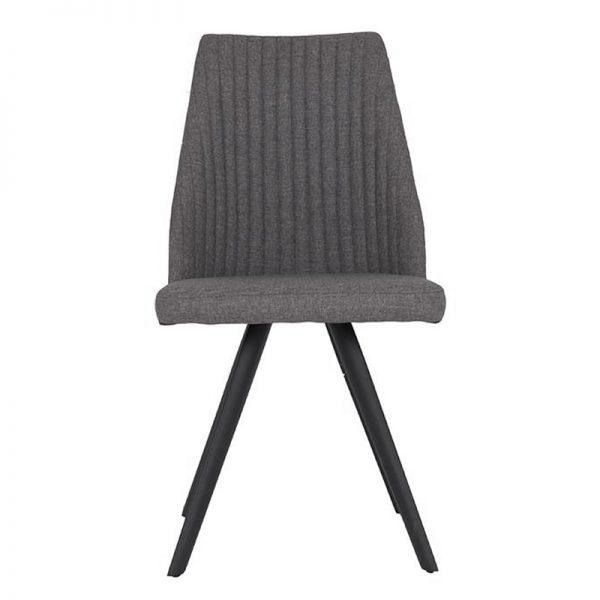 Grey fabric dining chairs uk