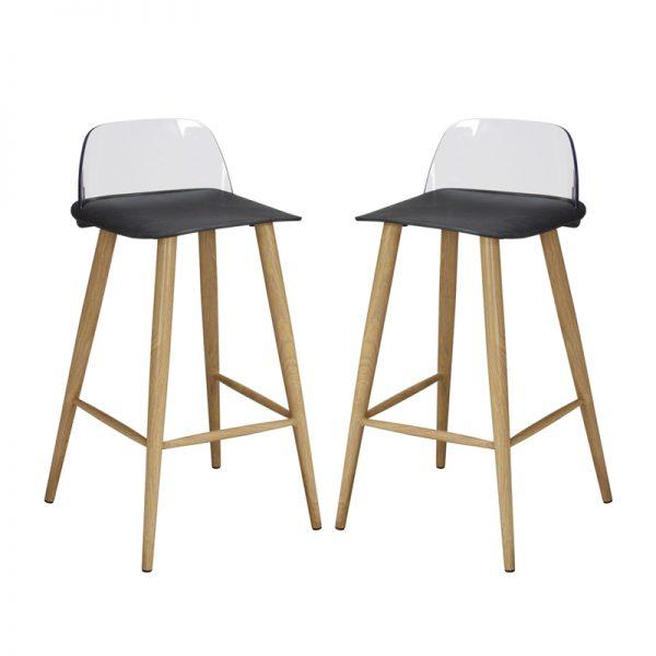 chelsea bar stools black