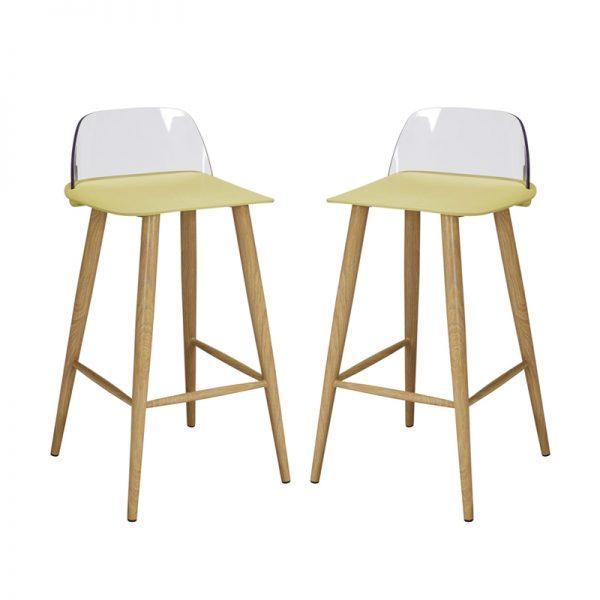 chelsea bar stools lime