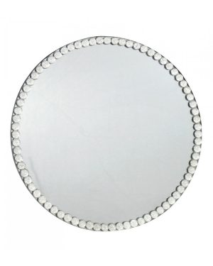 crystal round placemats, crystal placemats, placemats, round placemats, mirror placemats, mirror candle plates, crystal candle plates, candle plates