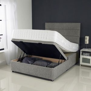 ottoman bed, storage bed, lift up bed