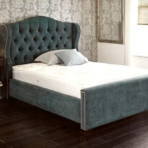 custom beds, custom made beds, bespoke beds, make your own bed, velvet bed, crushed velvet bed, velvet bed