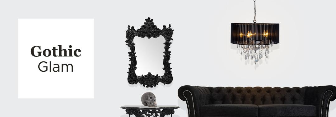 gothic glam room decor
