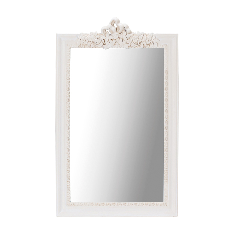 Jeanette French Ornate Wall Mirror Home Store Living