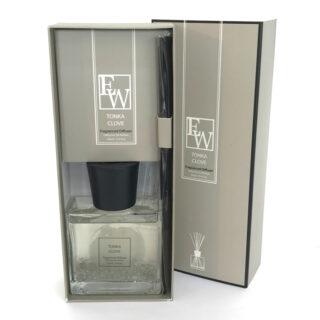 Fragranced Reed Diffuser – Tonka Clove 100ml