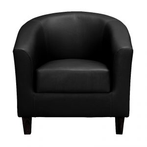 tub chair black, home store living