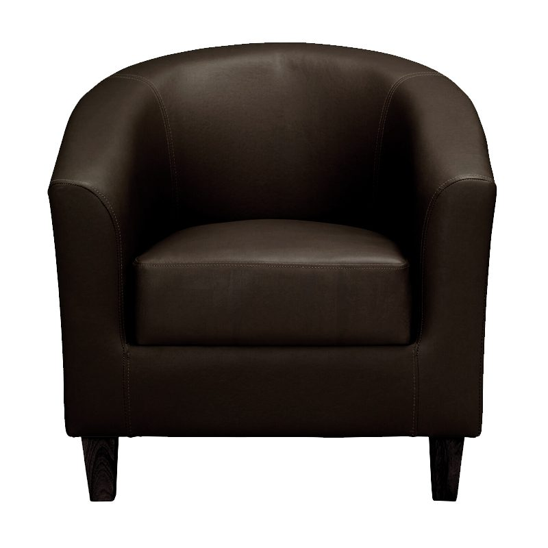 tub chair brown, home store living