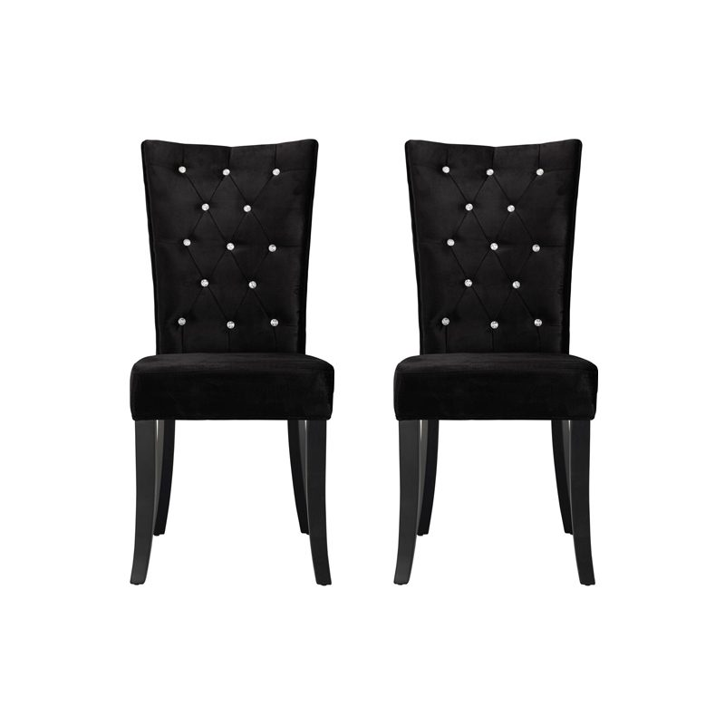 radiance dining chair black, home store living