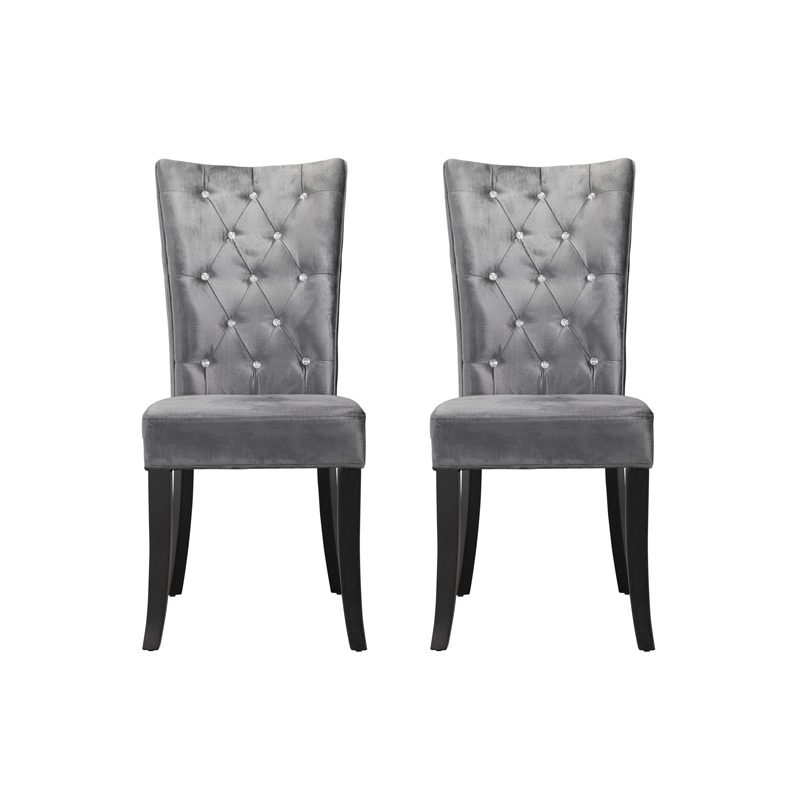 radiance dining chair silver, home store living