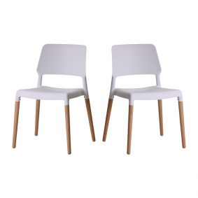 Riva Dining Chairs Pair