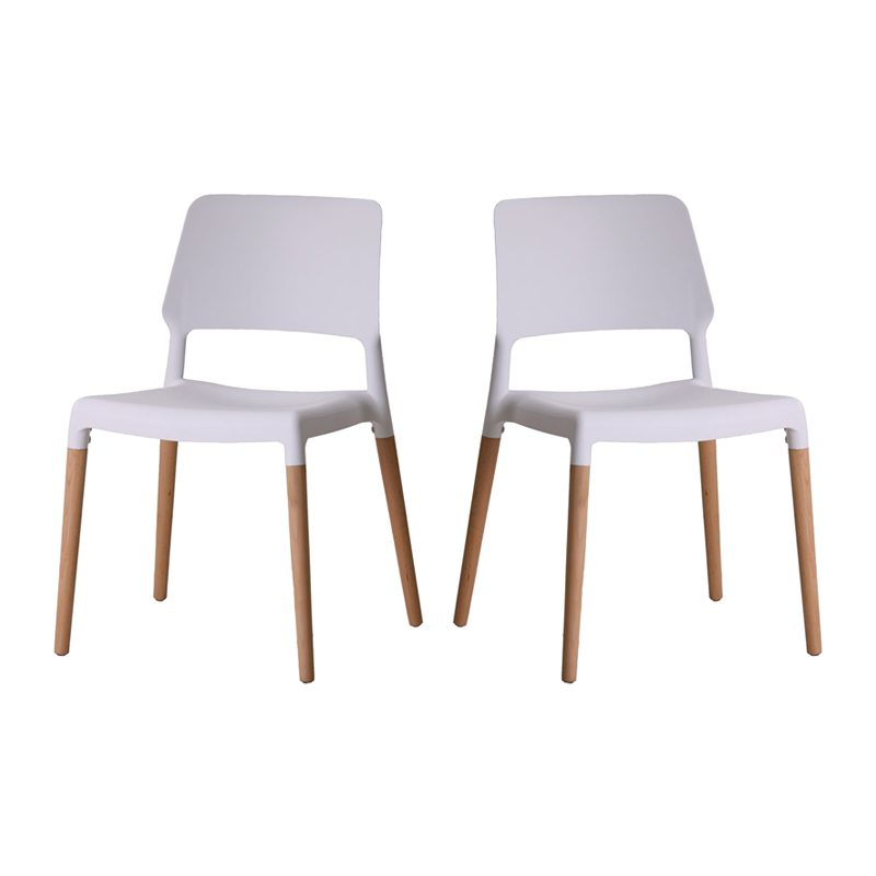 riva dining chair white, home store living