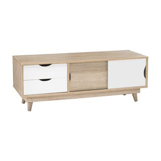 Scandi TV Unit – White