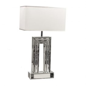 Arch Mirrored Table Lamp
