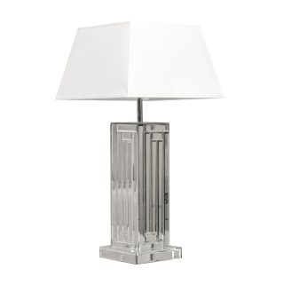 Bevelled Mirror Table Lamp