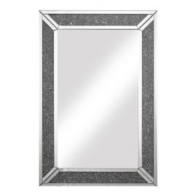 Crushed Glass Wall Mirror