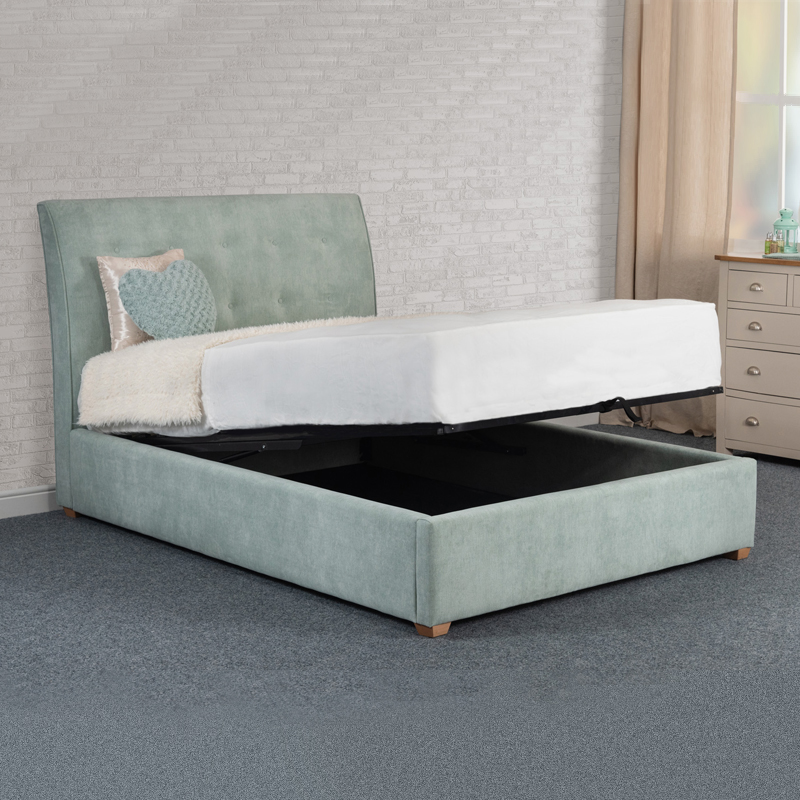 Harper Ottoman Bed Frame Get Free Delivery At Home Store