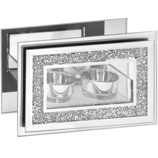 Mirror Diamond Tealight Holder