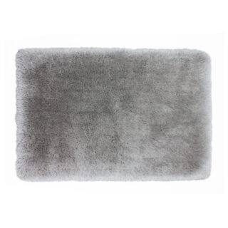 Basics Shag Rug Silver 80 x 150