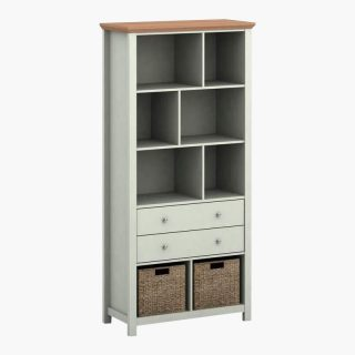 Cotswold – Grey Bookcase