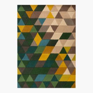 ISO – Green Mosaic Rug