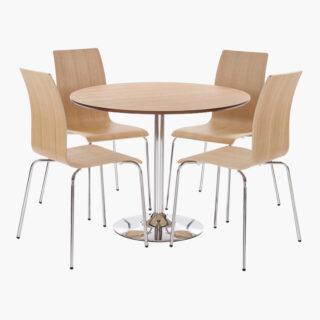 Soho Oak Dining Set