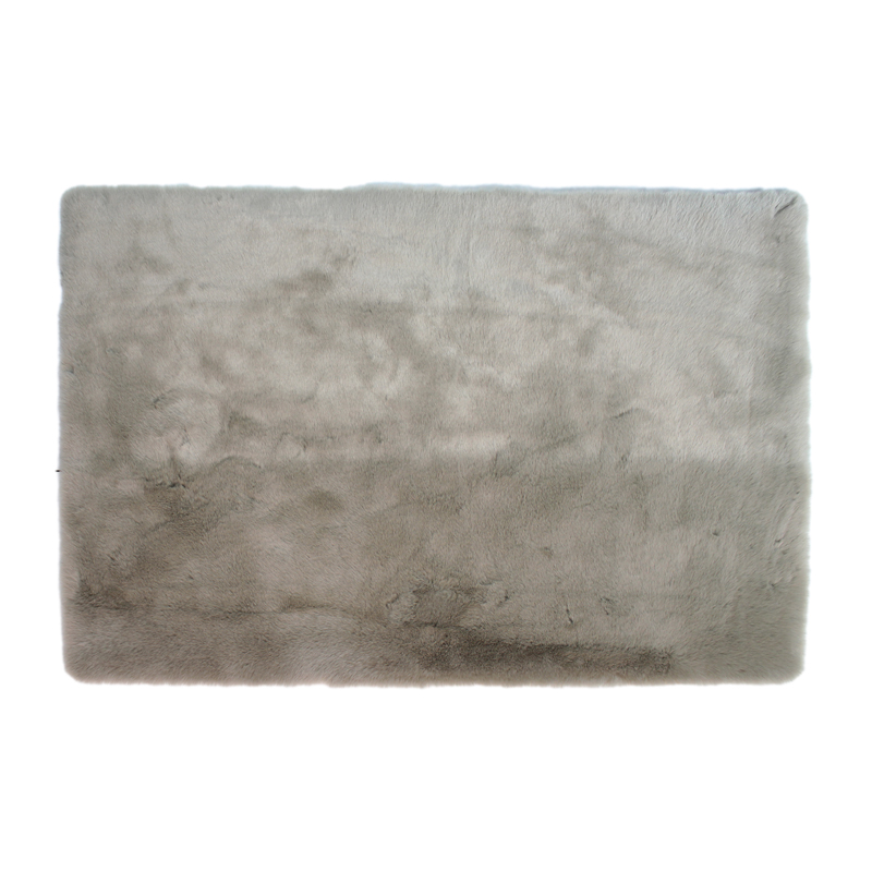 Fairmont Faux Fur Rug Grey 80 X 120