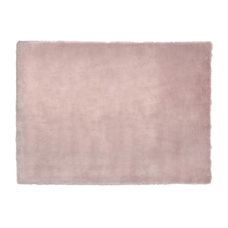 Fairmont Faux Fur Rug Pink 80 X 150