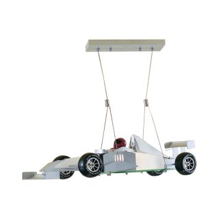 Racing Car Frosted Glass Ceiling Light