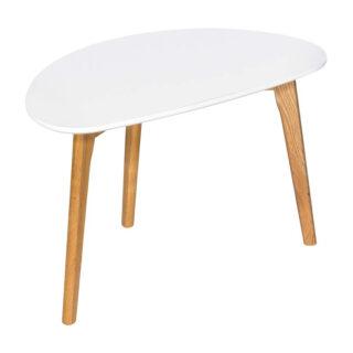 Amelia Coffee Table, White & Oak