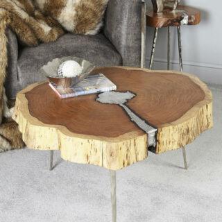 Cali Wood Large Coffee Table