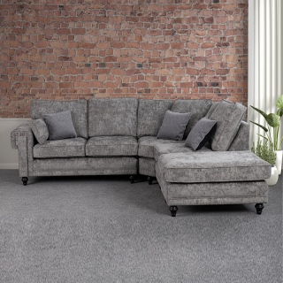 Winston Fullback Fabric Corner Sofa