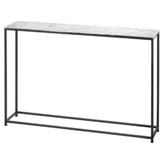 Farrah Collection Silver Console Table